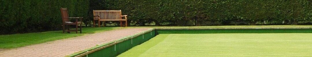 Environmentally friendly synthetic bowling greens