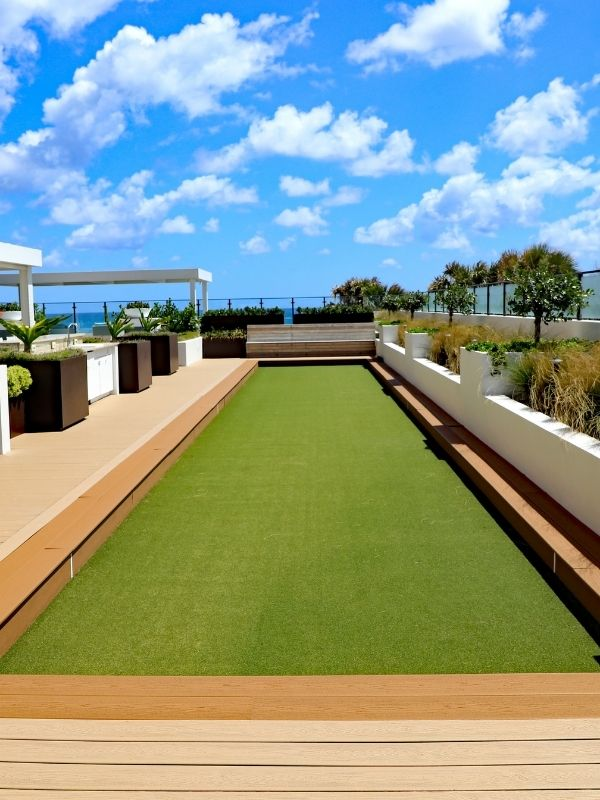 Bocce Court Vertical Image